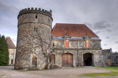 chateau de villersexel Arkivbilder