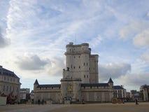 Chateau De Vincennes -法国城堡 库存图片