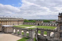 Chateau de Vincennes stock photo