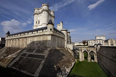 Chateau de Vincennes a Parigi fotografia stock