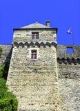 Chateau de Vitre - medieval castle in the town of Vitre, France. Chateau de Vitre - medieval castle in the town of Vitre, Brittany, France stock image