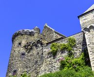 Chateau de Vitre -  medieval castle in the town of Vitre, France. Chateau de Vitre -  medieval castle in the town of Vitre, Brittany, France royalty free stock photography