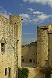 Chateau-DES Adhemar - Montelimar Lizenzfreie Stockbilder