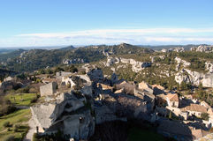 Chateau des Baux Stock Photography