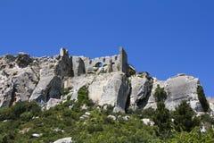 Chateau des Baux Royalty Free Stock Photos