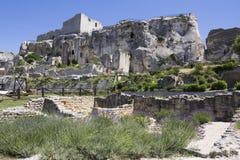 Chateau des Baux Stock Photography
