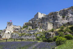 Chateau des Baux Stock Photo