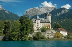 Chateau des Ducs Royalty Free Stock Image