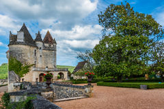 Chateau des milandes Royalty Free Stock Photography