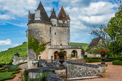 Chateau des milandes Royalty Free Stock Photos