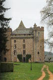 Chateau des Ternes, Cantal ( France ) Stock Photo