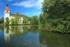 Chateau di Blatna fotografia stock
