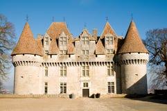 Chateau di Monbazillac Immagine Stock Libera da Diritti