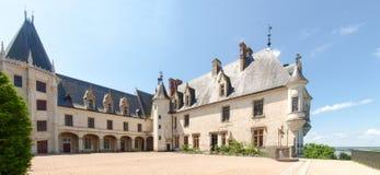 Chateau die Chaumont-s-Loire Stockbild