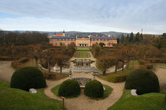 Chateau Dobris Stock Photography