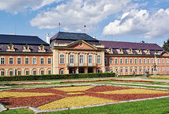 Chateau Dobris in Bohemia 2 Royalty Free Stock Photography