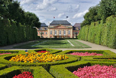 Chateau Dobris i Bohemia Royaltyfri Bild