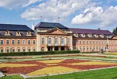 Chateau Dobris i Bohemia 2 Royaltyfri Fotografi