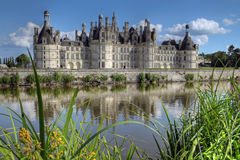 Chateau du Chambord 04, France Royalty Free Stock Photos