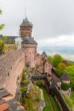 Chateau du Haut-Kœnigsbourg - Alsace, France Stock Images