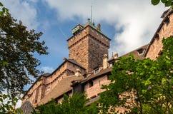 Chateau du Haut-Koenigsbourg -阿尔萨斯 免版税图库摄影