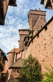 Chateau du Haut-Koenigsbourg -阿尔萨斯 库存图片