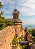 Chateau du Haut-Koenigsbourg - Alsace Photo stock