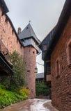 Chateau du Haut-Koenigsbourg - Alsace, France Royalty Free Stock Photography