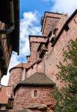 Chateau du Haut-Koenigsbourg - Alsace, France Royalty Free Stock Images