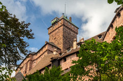 Chateau du Haut-Koenigsbourg - Alsace Royalty Free Stock Photography