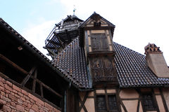 Chateau du Haut-Koenigsbourg, Alsace, France Stock Photography