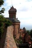 Chateau du Haut-Koenigsbourg, Alsace, France Royalty Free Stock Image