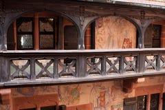 Chateau du Haut-Koenigsbourg, Alsace, Frankrike fotografering för bildbyråer