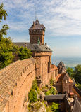 Chateau du Haut-Koenigsbourg - l'Alsazia Fotografia Stock