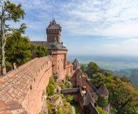 Chateau du Haut-Koenigsbourg - l'Alsazia Immagine Stock Libera da Diritti