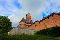 Free Chateau Du Haut-koenigsbourg, Medieval Castle In Alsace Royalty Free Stock Images - 115136359