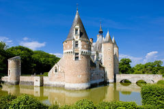 Chateau du Moulin Stock Images