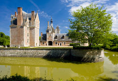 Chateau du Moulin Royalty Free Stock Images