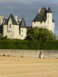 Chateau du Rivau, Lemere ( France ) Royalty Free Stock Images