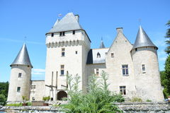 Chateau Du Rivau / Rivau Castle Stock Photos