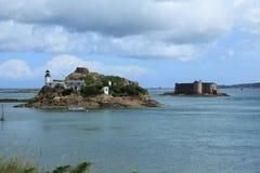 Chateau Du Taureau Island Images stock