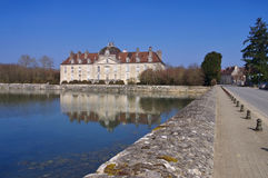 Chateau Fontaine-Francaise in France Royalty Free Stock Photo