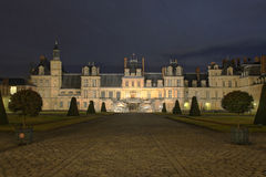 Chateau of Fontainebleau Stock Photo
