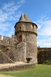 Chateau, Fougeres  France Stock Images
