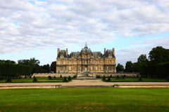 The chateau in France Stock Photo