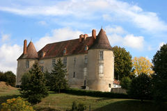 chateau france Arkivfoto