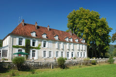 Chateau in France. Typical french chateau in the Provence, France royalty free stock photography