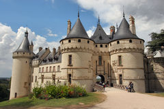 chateau France obrazy royalty free