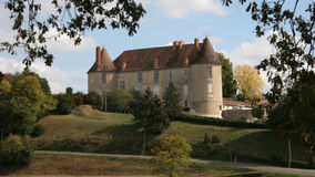 Chateau in France Royalty Free Stock Photography