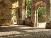 Chateau francese fotografie stock
